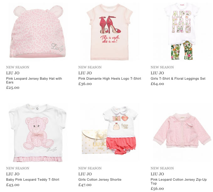 Liu-Jo Children Clothing