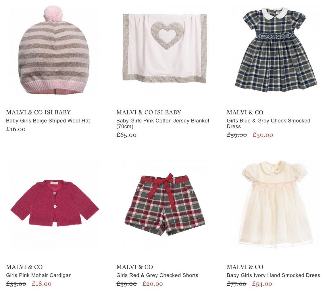 Malvi & Co Children Wear