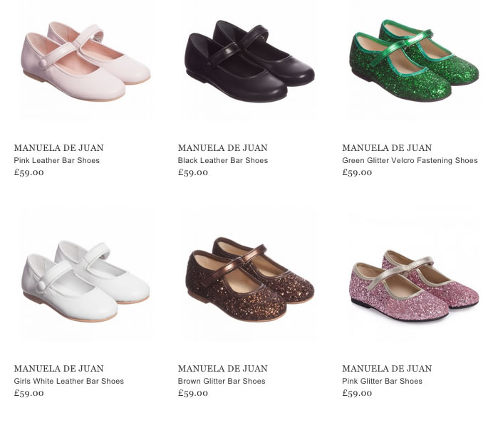 Manuela de Juan Girls Shoes