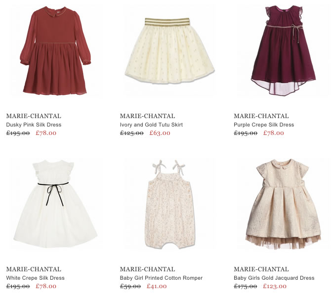 Marie-Chantal Children & Baby Clothing