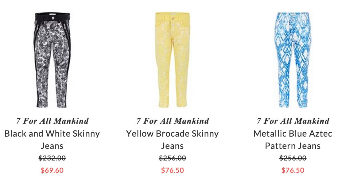7 For All Mankind kids clothing