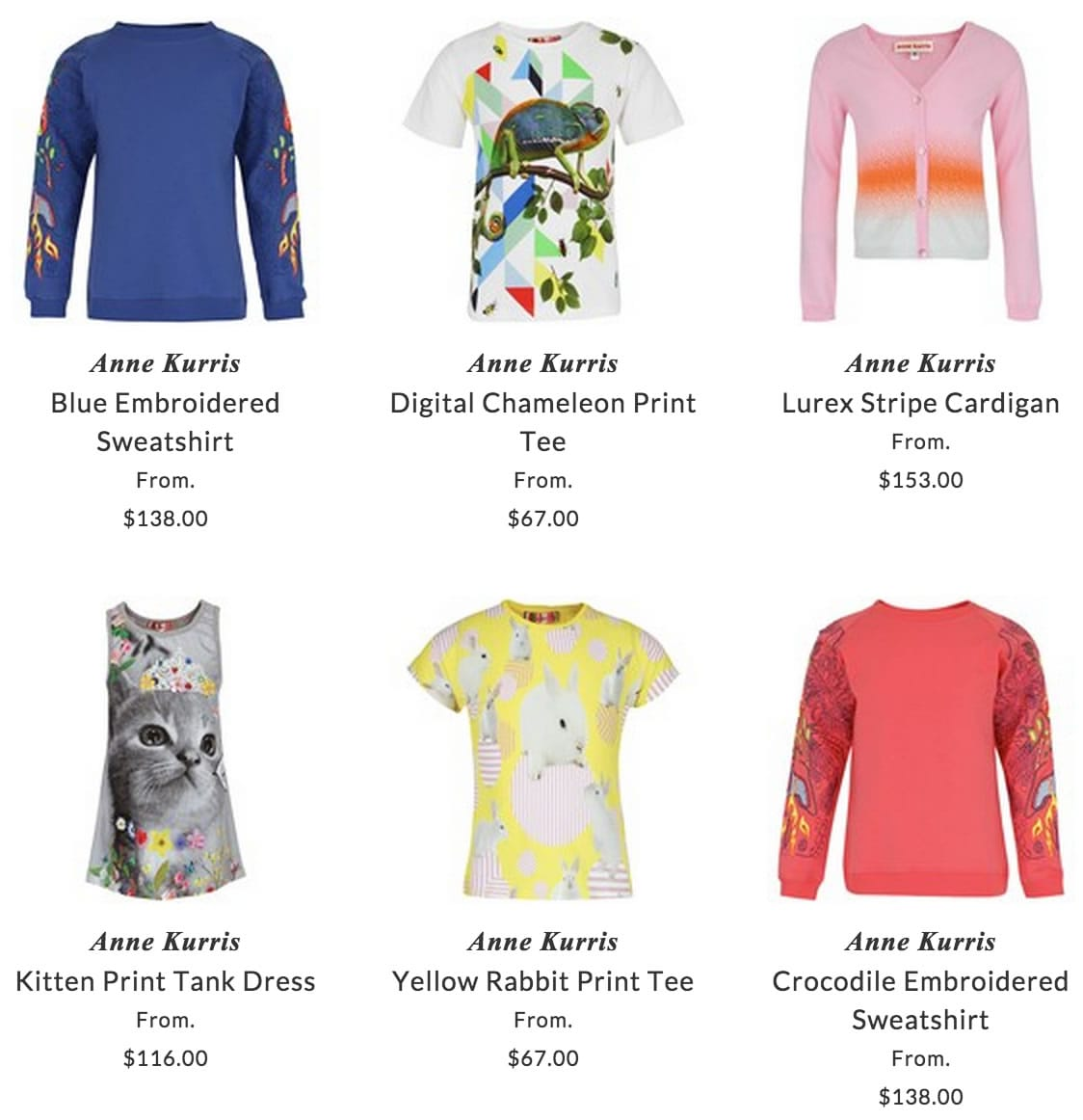 Anne Kurris children clothing