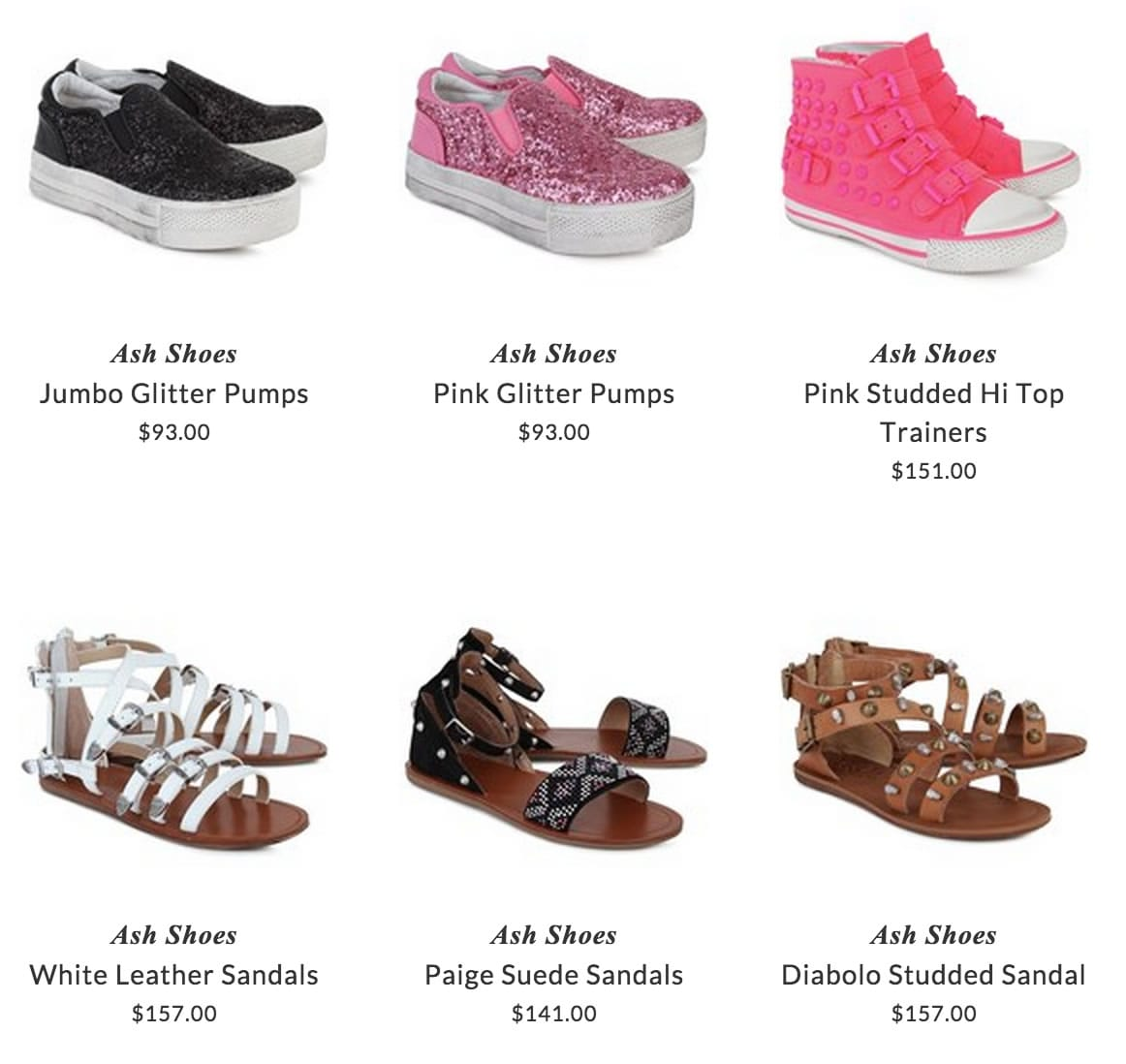 Ash Shoes children footwear