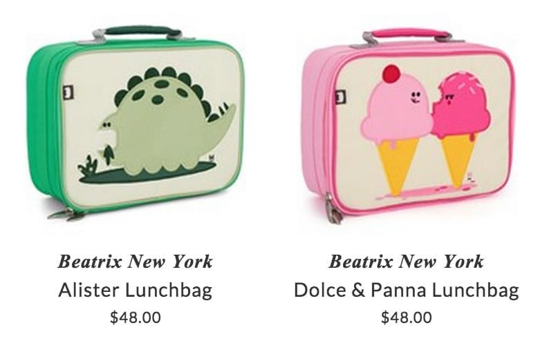 Beatrix New York kids bags & lunch boxes