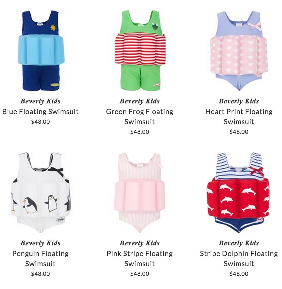 Beverly Kids swimwear
