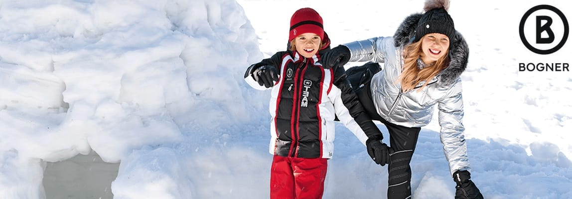 Bogner luxury children skiwear