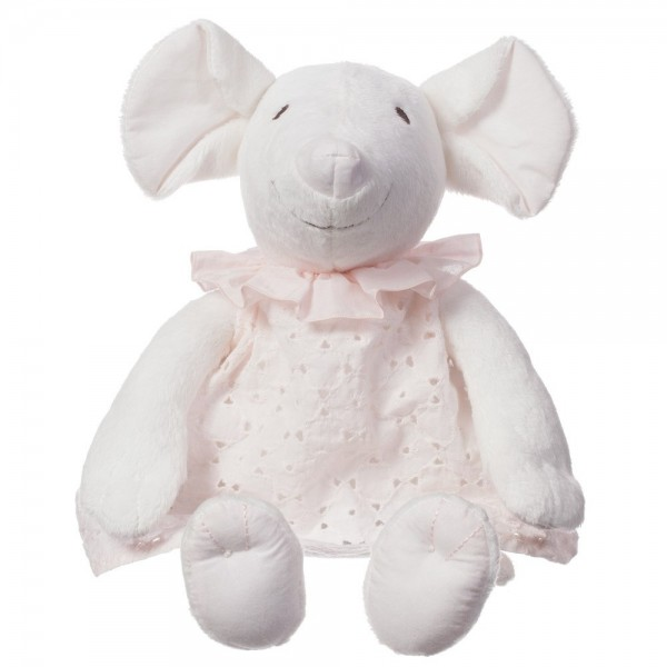 CHLOÉ Girls Ivory Mouse Soft Toy (31cm) 1