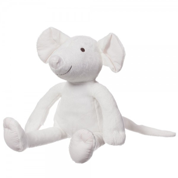 CHLOÉ Girls Ivory Mouse Soft Toy (31cm) 3