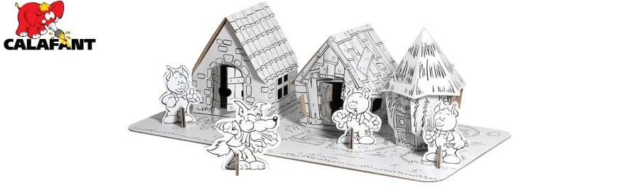 Calafant children cardboard toys