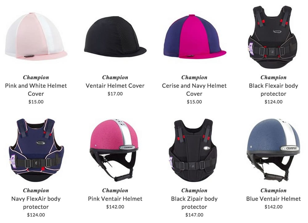 Champion kids riders protective wear