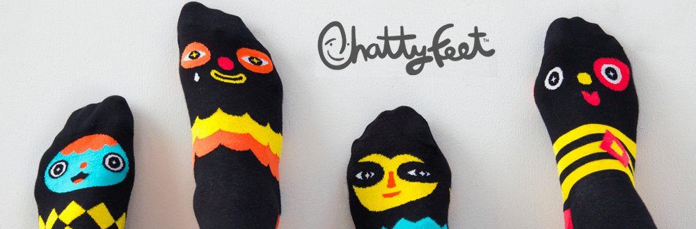 Chattyfeet children socks