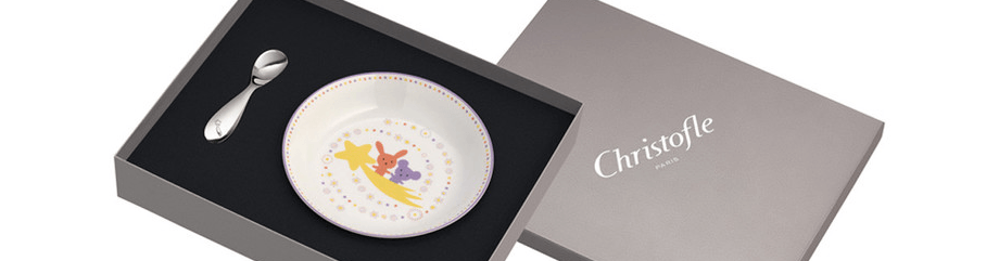 Christofle children tableware