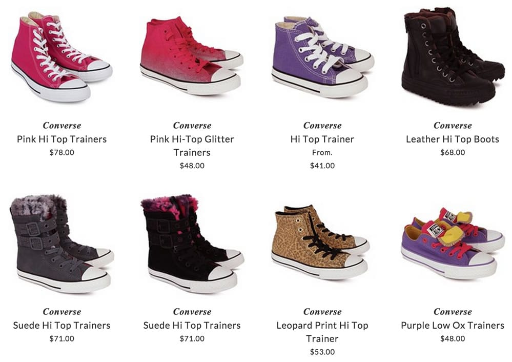 Converse children shoes