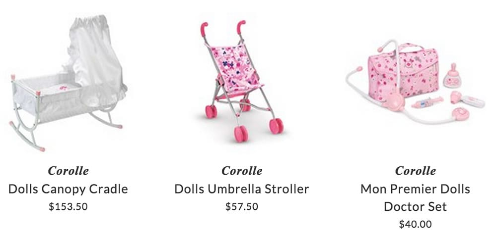 Corolle toys for girls