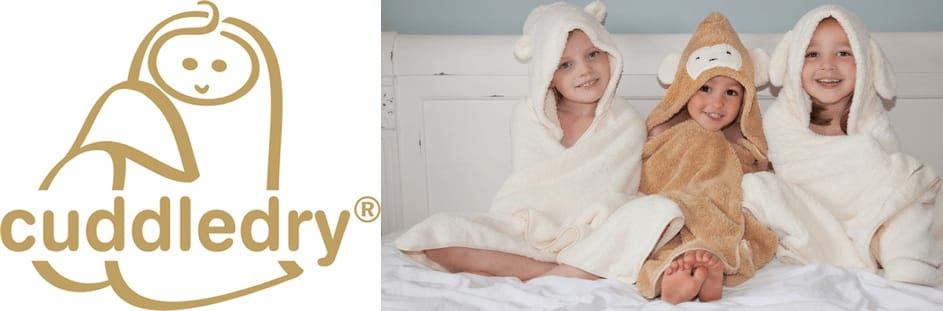 Cuddledry organic bath clothing & accessories for kids