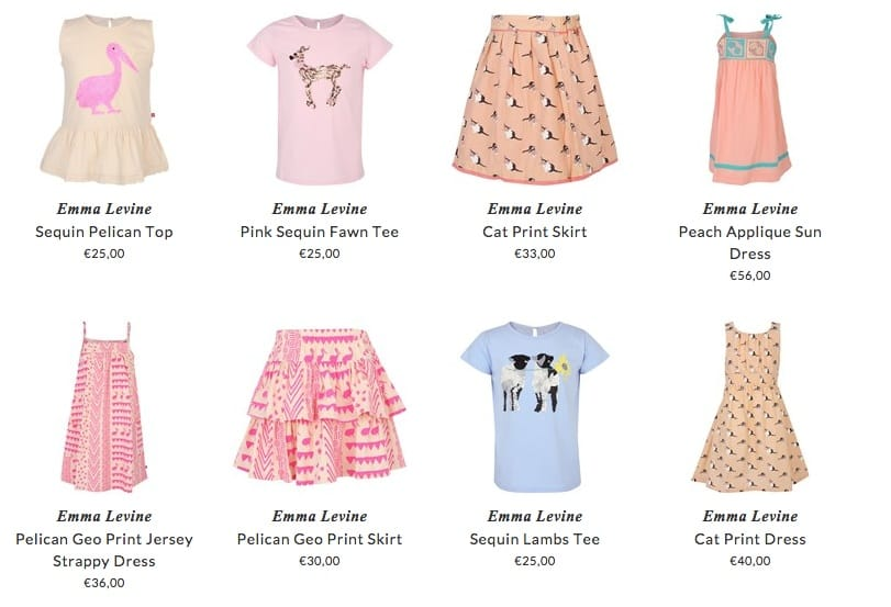 Emma Levine children & babies clothing