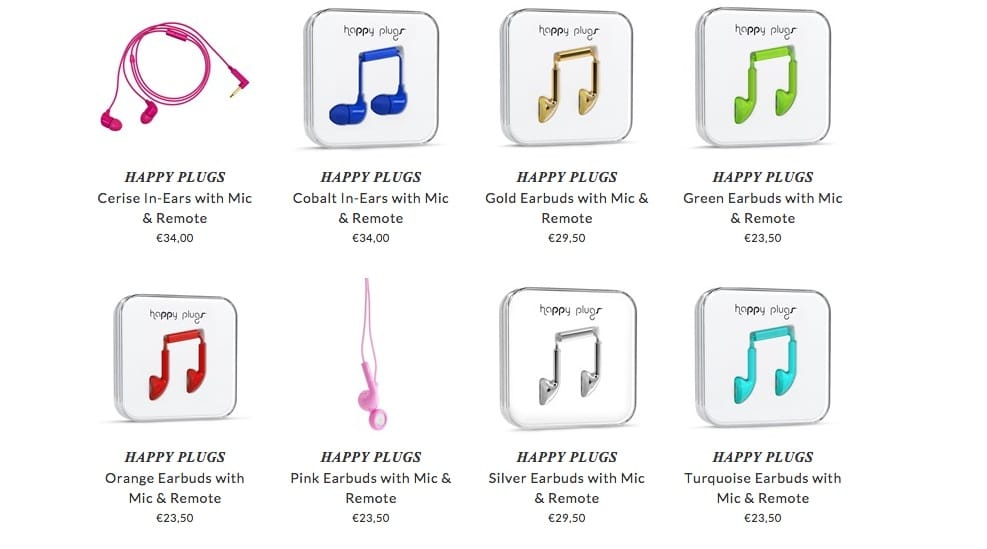 HAPPY PLUGS kids music accessories