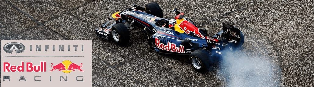 Infiniti Red Bull Racing children kids clothing
