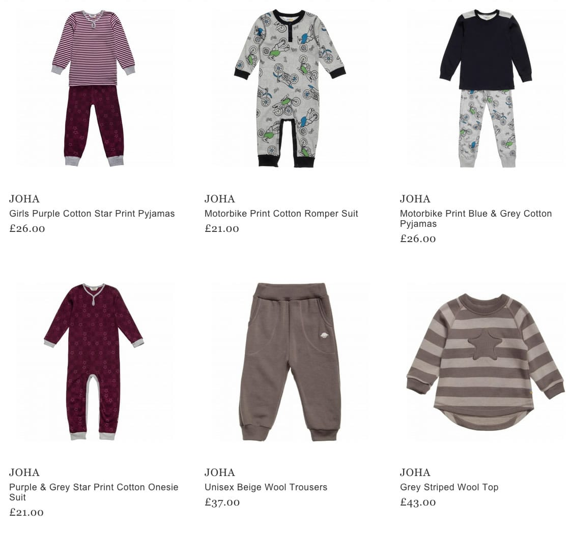 Joha Kids & Baby Clothes