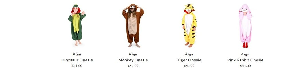 Kigu children pyjamas