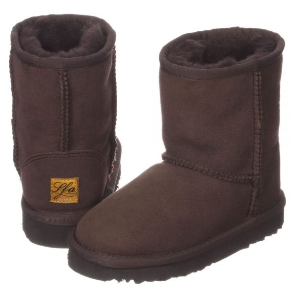 LOVE FROM AUSTRALIA Brown Unisex Sheepskin Boots1