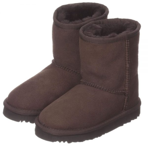 LOVE FROM AUSTRALIA Brown Unisex Sheepskin Boots2