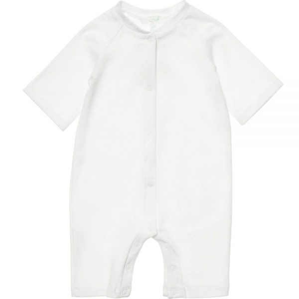 MARIE-CHANTAL White Cotton Shortie with Wings1
