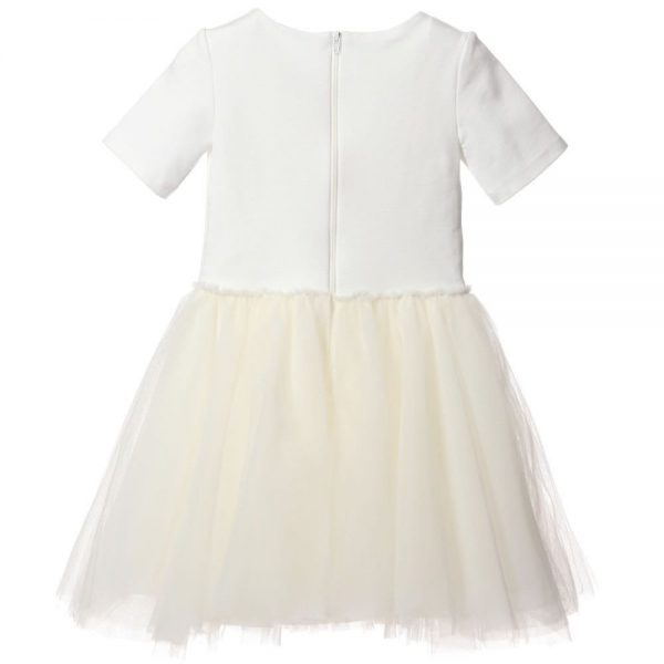 MICROBE BY MISS GRANT Jersey and Tulle Dress2