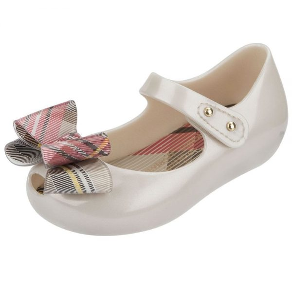 MINI MELISSA Ivory Vivienne Westwood Jelly Shoes1
