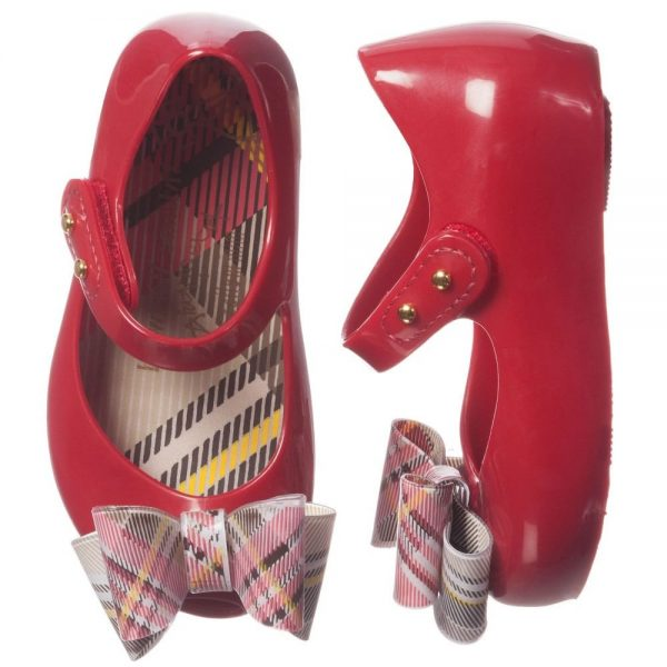 MINI MELISSA Red Vivienne Westwood Jelly Shoes2