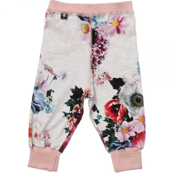 MOLO Girls Floral 'Silvia' Jersey Trousers