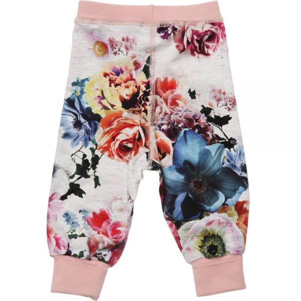 MOLO Girls Floral 'Silvia' Jersey Trousers1