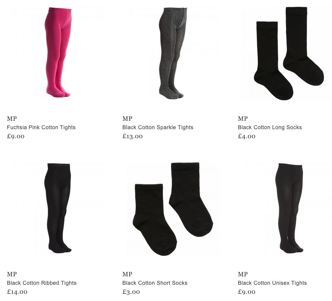 MP Kids Tights & Socks