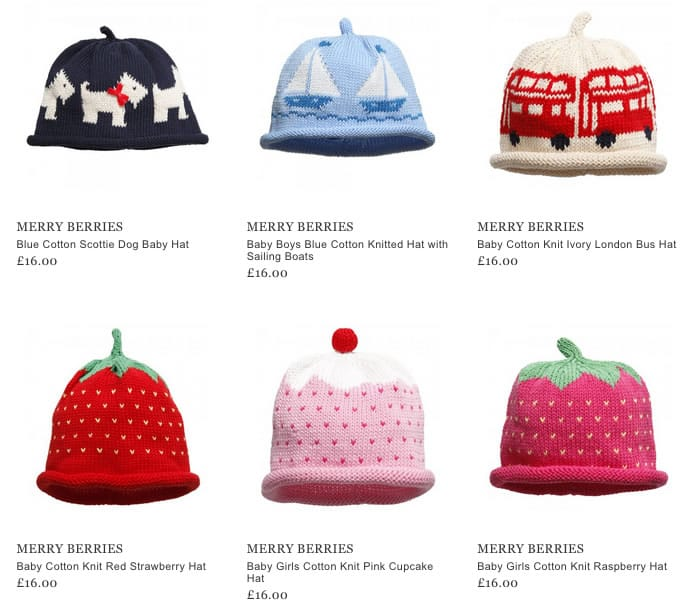 Merry Berries Children Accessories