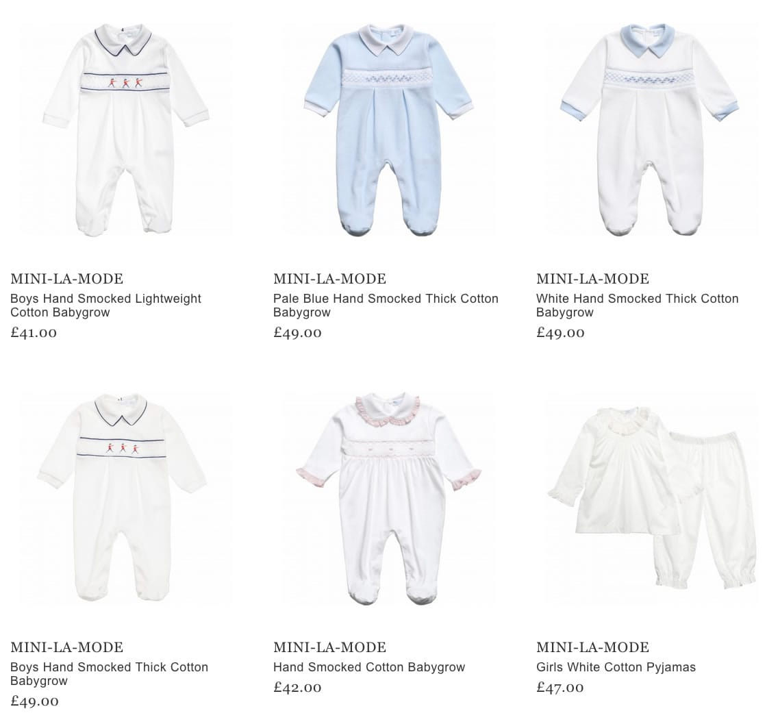 Mini-La-Mode Baby Clothes