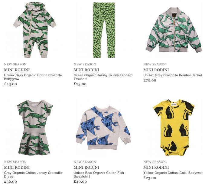 Mini Rodini Boys & Girls Clothing