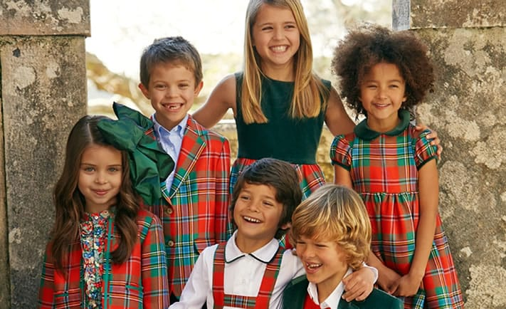 OSCAR DE LA RENTA Luxury children clothing