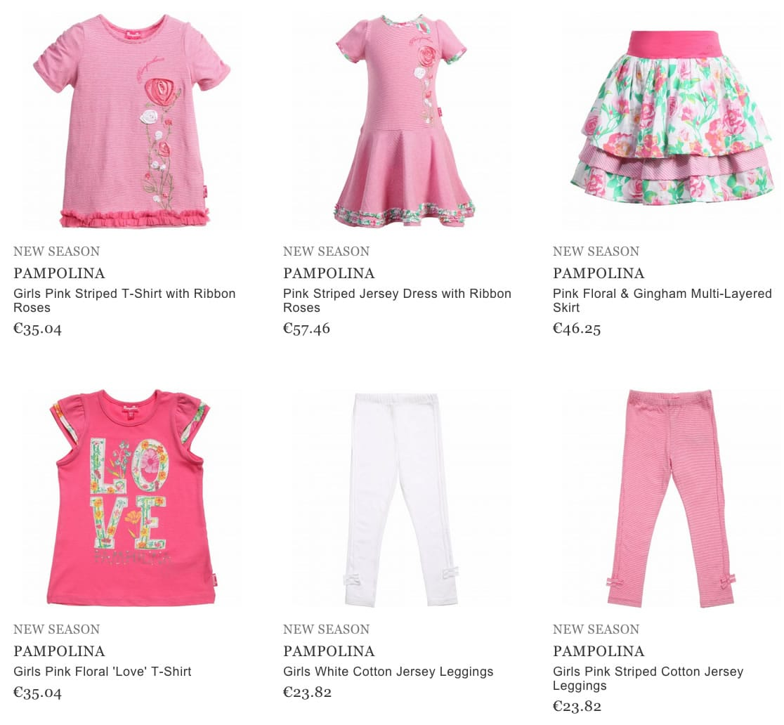PAMPOLINA children clothes