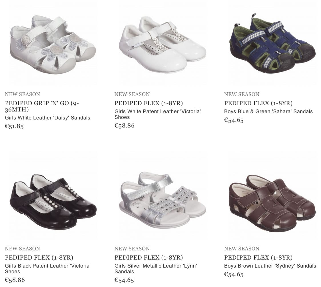 Pediped baby footwear