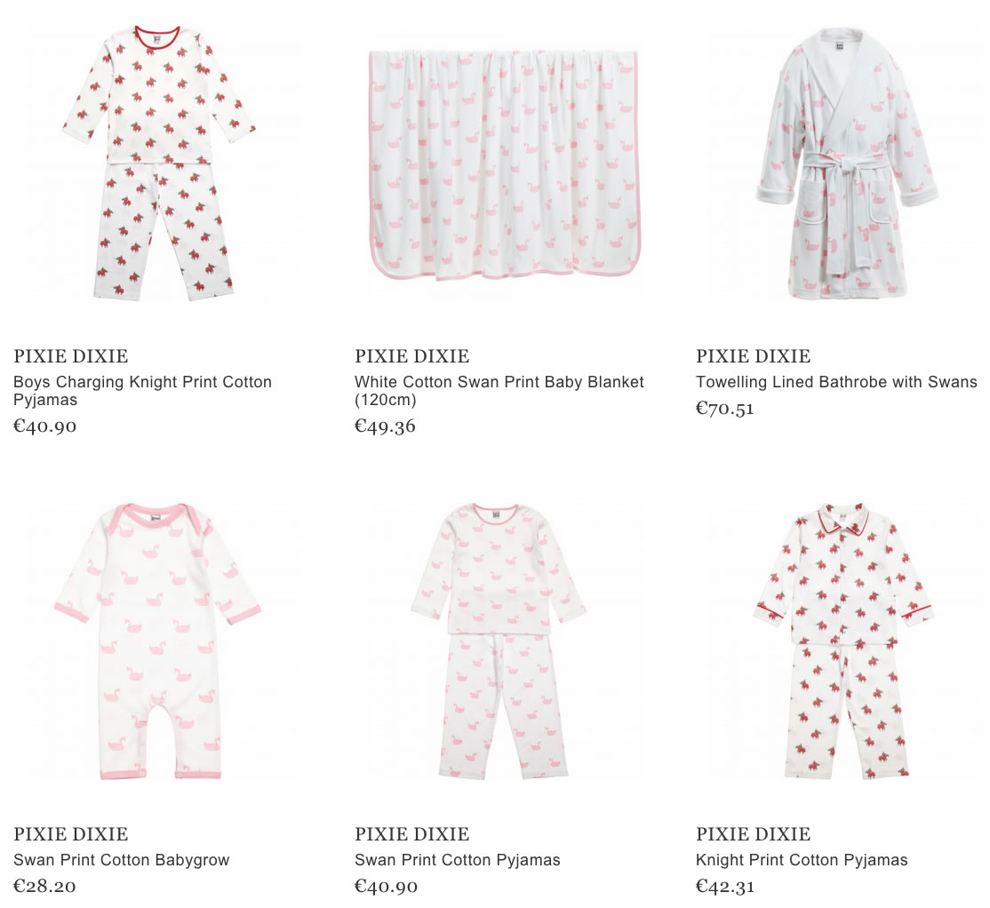 Pixie Dixie Kids Nightwear