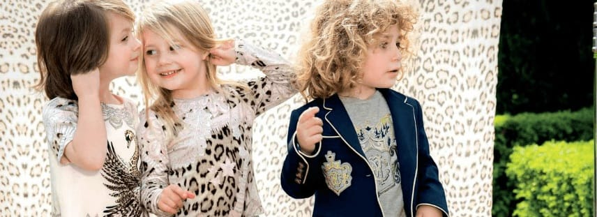 ROBERTO CAVALLI children designer clothes