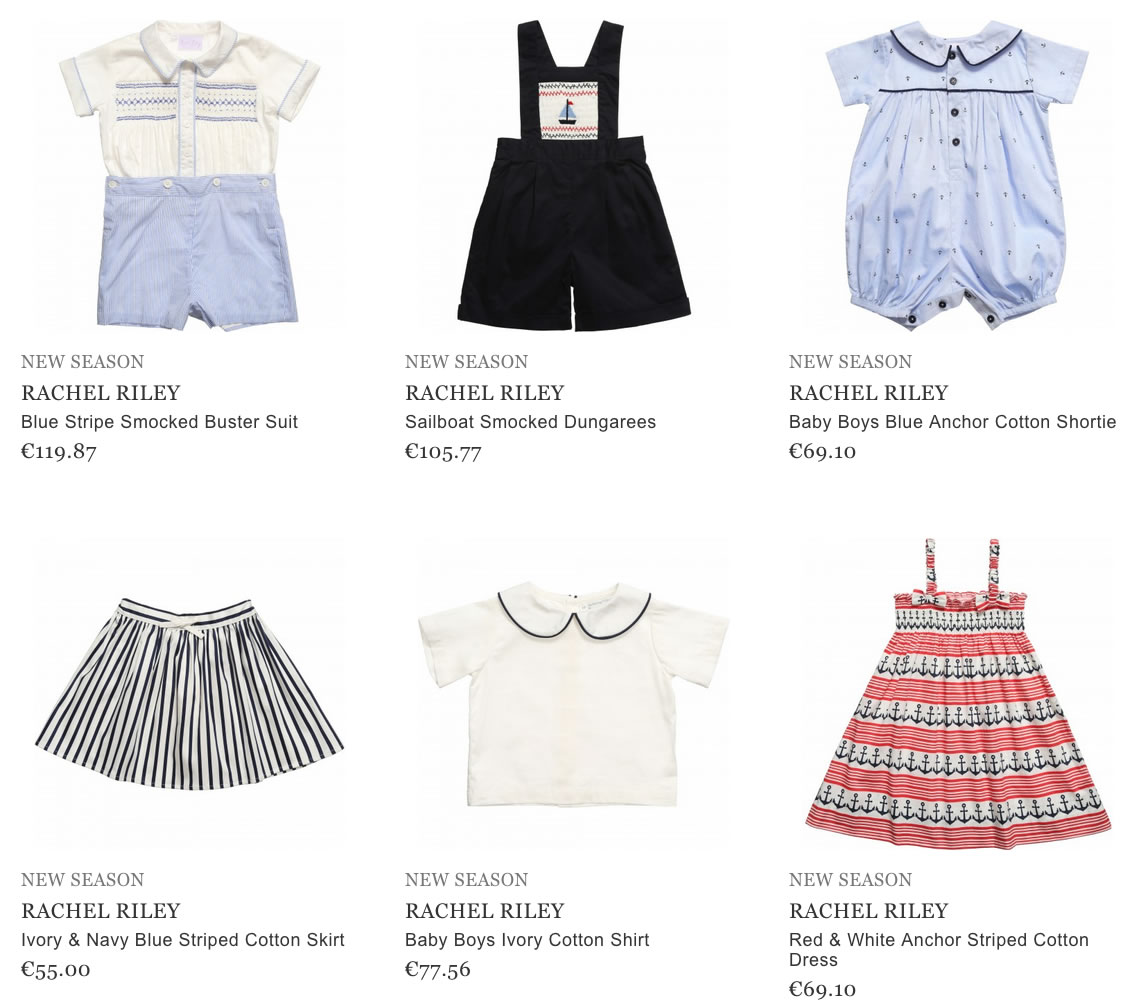 Rachel Riley children clothes