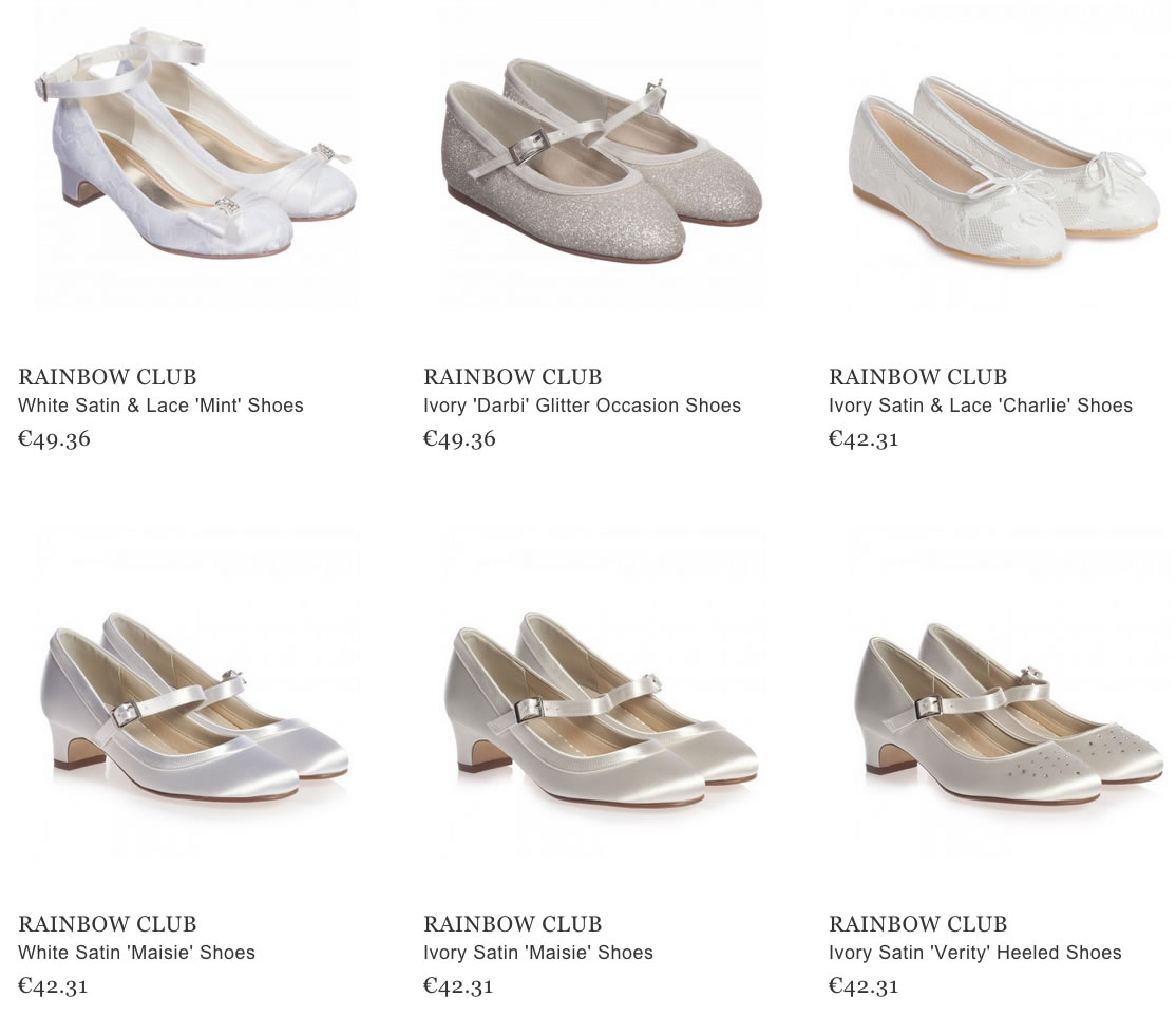 Rainbow club girls shoes