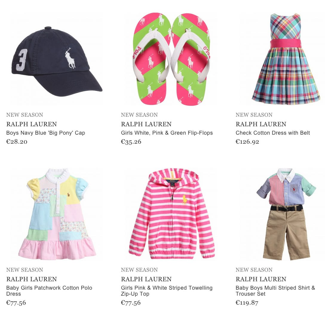Ralph Lauren Kids Clothing
