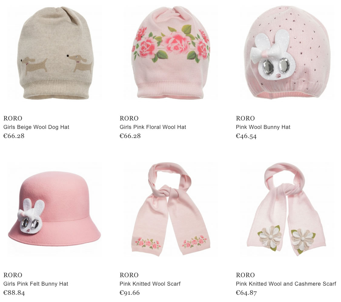 Ro Ro hats and bags