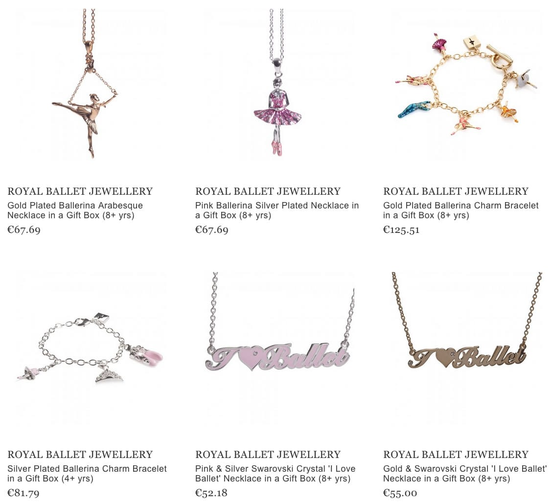 Royal Ballet Jewellery
