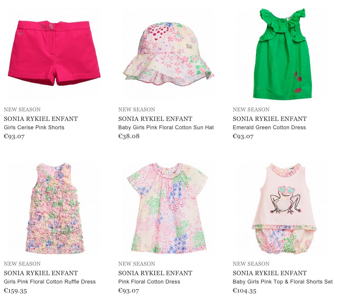 Sonia Rykiel Enfant Children Clothes