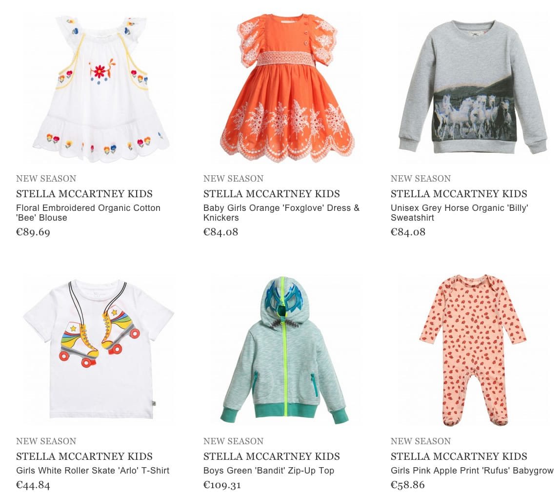 Stella McCartney children clothes