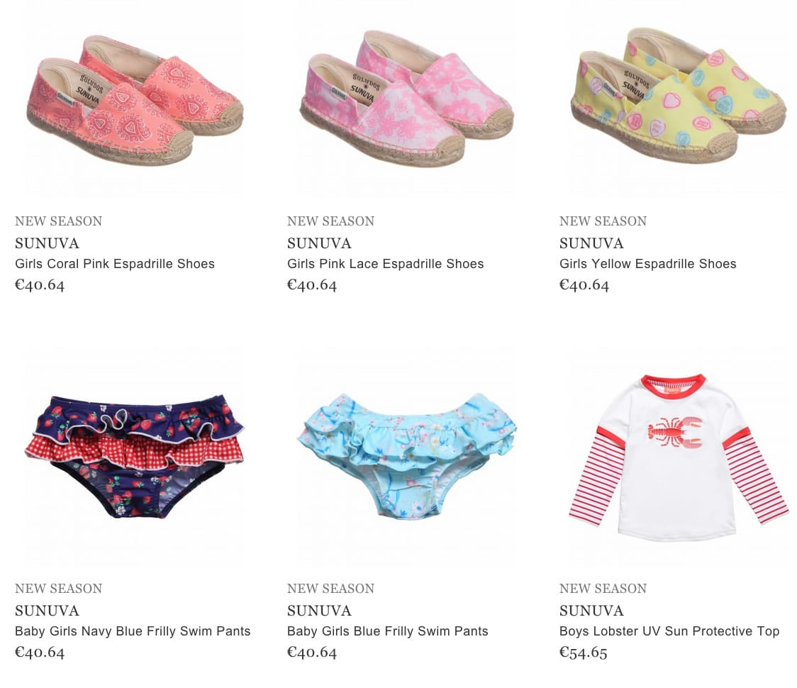 Sunva children beachwear