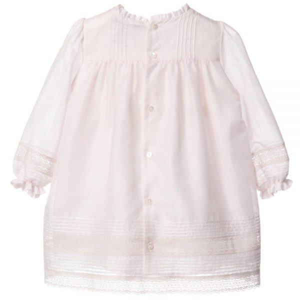 DIOR Pink Cotton & Lace Dress with Bloomers 1